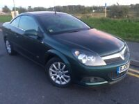 2008 Vauxhall Astra Sport TTop 1.9 cdti 150 bhp 6 speed # convertible /Hardtop# s/history# only 94k
