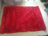 Red Shimmer Rug 120x170