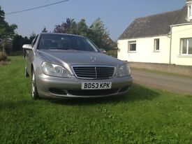 MERCEDES S CLASS 350 2003 MODEL IN AMAZING CONDITION