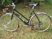 Vintage Style Raleigh Falcon Ladies Bicycle 27inch wheels