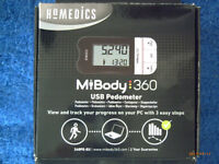 PEDOMETER 360 IDEAL FOR WALKING & RUNNING