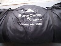 Sunncamp Air Volution Ultima Air 280 Inflatable Caravan Awning