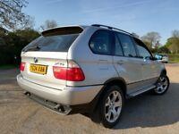 !!! BMW X5 3.0 SPORT 07948032527 SAT NAV TELEPHONE SUNROOF 4X4 JEEP !!!