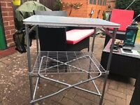 camping cooker table