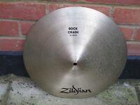 """Cymbals - Avedis Zildjian - 16"""" Rock Crash"""
