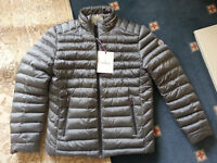 MONCLER JACKET FOR MEN'S*HOODED*BRAND NEW*GREY COLOUR