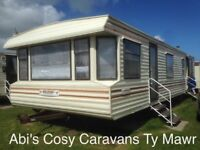 Getaway now in a pet friendly 8 berth caravan on Parkdean Resorts Ty Mawr, North Wales