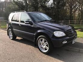 Mercedes ML270 cdi semi auto 7 seater
