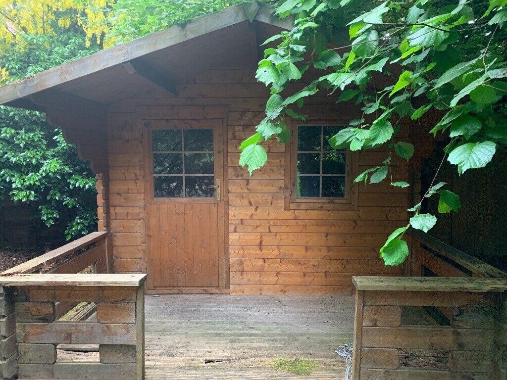 Item Has Sold Summer Garden House Honey Coloured Wooden