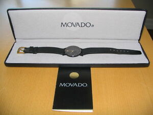 Original Vintage Men's Movado Museum Watch