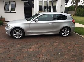 Low mileage - very clean BMW 120i silver - m sport suspension