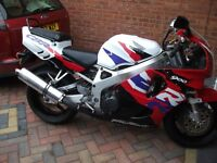 fireblade cbr900rrv imaculate low millage classic insurance 2500 no offers