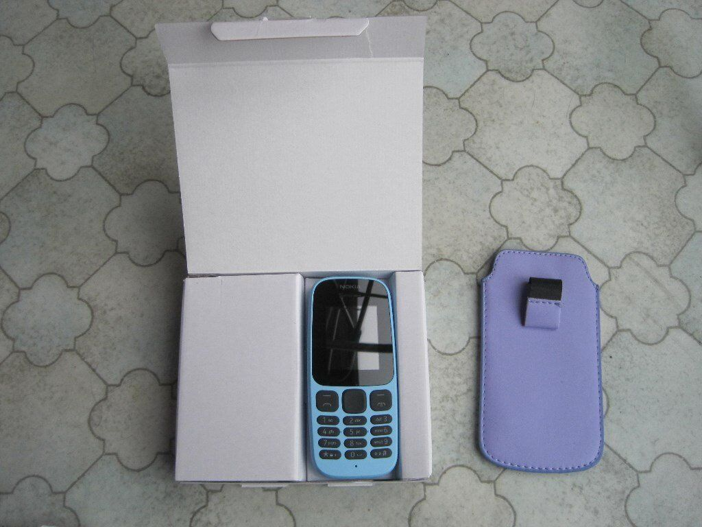 new product 695d7 6e344 Nokia 105 Sim Free Mobile Phone, powder blue | in Chipping Sodbury, Bristol  | Gumtree