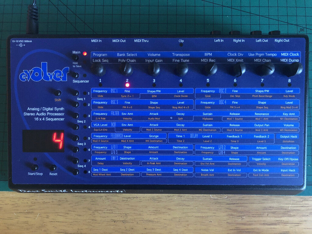 Dave Smith Instruments Mono Evolver Desktop Synthesizer In Hove To Stereo