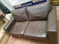 Sofa bed brown colour for sale clean