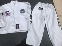 Child Taekwondo Red Dragon ITF suit- size 000/110
