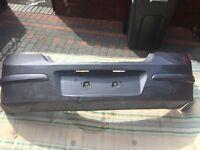 Vauxhall Astra mk5 2009 rear grey bumper.