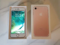 APPLE IPHONE 7 32GB UNLOCKED ROSE GOLD BOXED