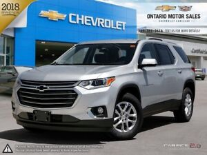 2018 Chevrolet Traverse LT TRAILERING PACKAGE / HEATED FRONT...