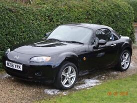 2006 mx5 mazda with hard & soft top. 60000miles lovely condition