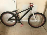 Large xrated jump bike Grey/Red