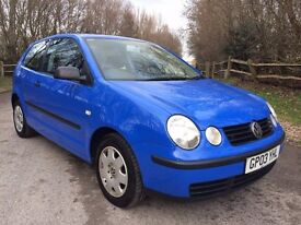 VW Polo 1.2 - one lady owner from new with FULL Caffyns VW service history