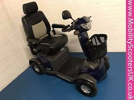 Ex-Demo 2015 Van Os Galaxy II 2 Large Mobility Scooter 8mph In Blue