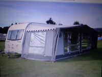 ISABELLA COMMODORE GOLD AWNING 1050 X 3.5 EXCELLENT CONDITION BROUGHT 3 YEARS AGO USED ONE SEASON