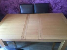 REDUCED Dining table and chairs