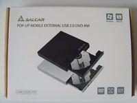 SALCAR Mobile External USB DVD-RW