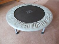 Mini Trampoline for fitness and training