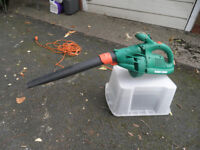 Black & Decker leaf blower and vacuum GW250