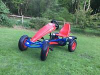 Berg extra sport go kart and home build trailer