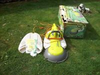 GARDEN GROOM ELECTRIC SAFTY HEDGE TRIMMER CUTS, SHRED AND COLLECTS WASTE GOOD COND CB5 £25 ONO