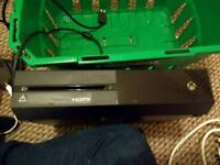 X box one with 4 games, kinect and lego dinensions starter kit