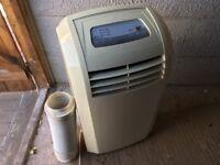 9000BTU Homebase Portable Air Conditioner/Dehumidifier/Fan Vent Hose