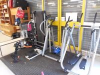 Various Gym Fitness Equipment/Mountain Bikes THIS ITEM CAN BE VIEWED AT HOUSE OF HOPE CHARITY SHOP