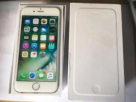 iPhone 6 Unlocked 16GB Silver Excellent Condition