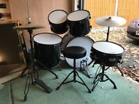 TIGER 5 PIECE JUNIOR DRUM KIT