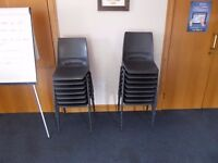 90 stackable chairs - office, conference, school