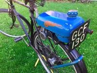 3 speed sturmey archer Humber bicycle Autocycle Trojan Mini Motor Vintage Bike