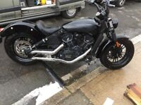 Indian scout sixty not Harley Davidson or ktm or bobber