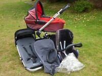 Quinny pram/pushchair/car seat