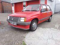 1985 Vauxhall Nova 1.2 Merit Original condition 1 Owner Mot Dec Huge history Future Classic