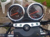 Sinis max 125cc 2016 plate