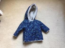 Winter jacket baby boy