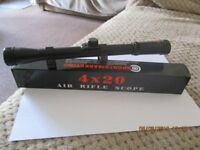 4x20 Scopes Brand New ( unused ).