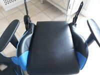 Gaming Chair Needs Repairing so Free - Sports Gaming Chair Lift Recliner Faux Leather