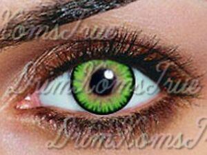 lentille de couleur vert emeraude gemstone green 3 tons utilisable 3 mois ebay. Black Bedroom Furniture Sets. Home Design Ideas