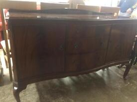 Vintage Queen Anne sideboard